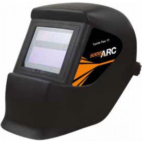 Masque de soudage meulage 2 en 1 électro optique noir  teinte fixe 1 -05761
