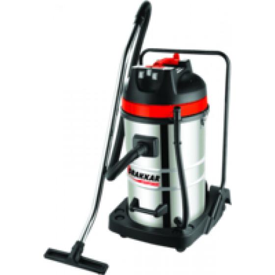 Aspirateur eaux et poussières cuve INOX basculante - 07408