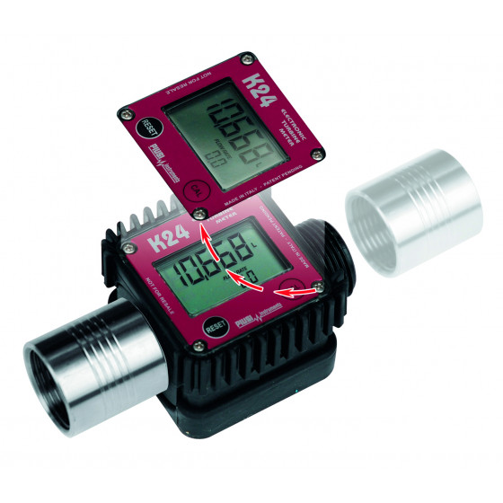 SODISE-Compteur digital a turbine-08506