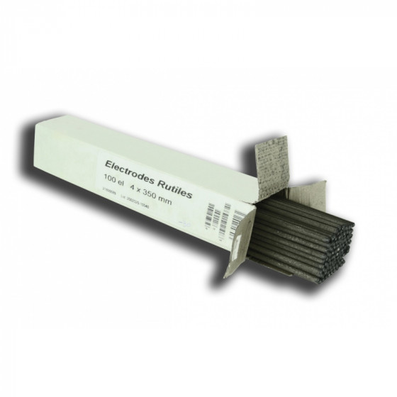 100 électrodes de soudage rutiles - 05452