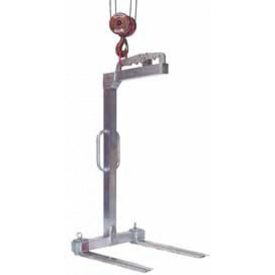 EICHINGER-1055 A-Léve-palette Aluminium, écartement réglable