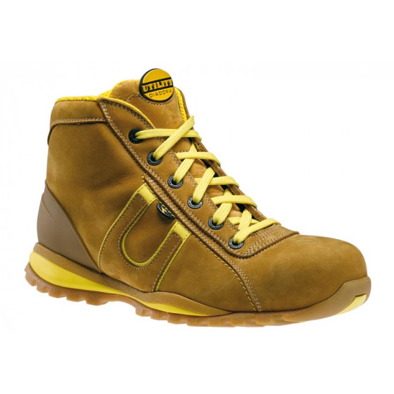 Chaussure haute Hi Glove SB Marron clair DIADORA-156954