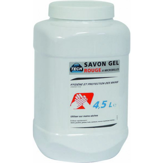 SAVON GEL MICROBILLES -4.5L- MECAN. SODISE-14530