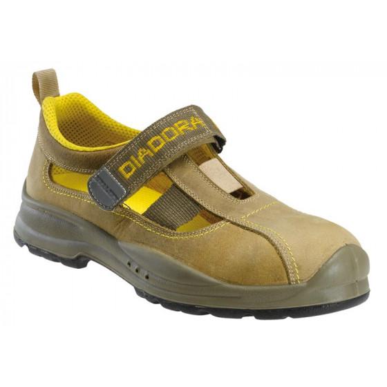 DIADORA-Chaussure basse PARKY S1P Marron Noix - 148758