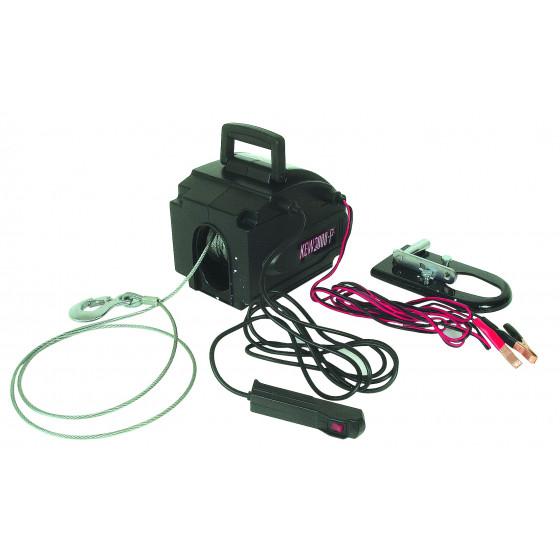SODISE-Treuil de traction electrique 12V-500Kg-15252