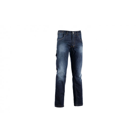 Jeans Denim stretch 5 poches bleu DIADORA STONE  - 15959060002