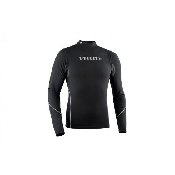 T-shirt unisex sans coutures manches longues DIADORA Noir TOP SOUL- 15968280013