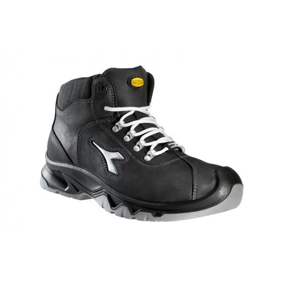 DIADORA-Chaussure de sécurité haute en Nubuck hydrofuge S3 HI DIABLO Noir-159924