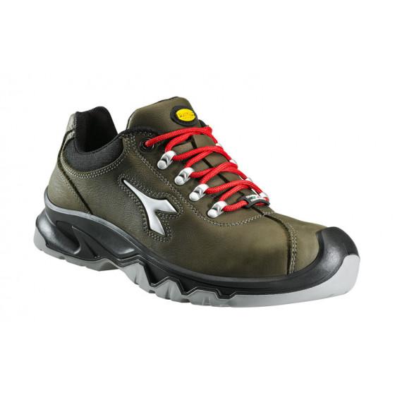 DIADORA- Chaussure de sécurité basse en Nubuck hydrofuge S3 DIABLO Vert Brillant-159925