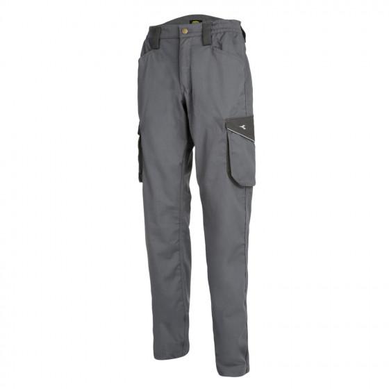Pantalon de travail cargo Gris Métal  STAFF POLY DIADORA - 160301750700