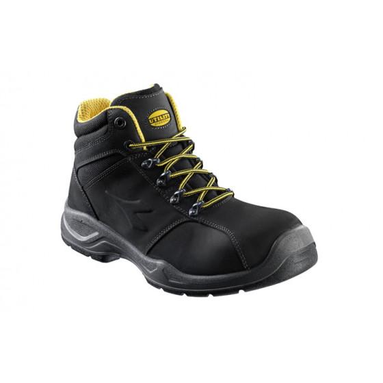 Chaussure de sécurité Haute S3 en nubuck Pull-up hydrofuge Noir HI FLOW II - 161235800130