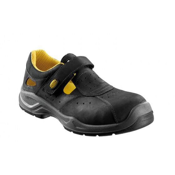 Sandales de sécurité DIADORA S1P en nubuck Pull-up hydrofuge Noir - 161332800130