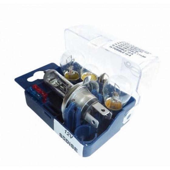 Coffret de Secours Compact d'ampoules H7 12V -16287