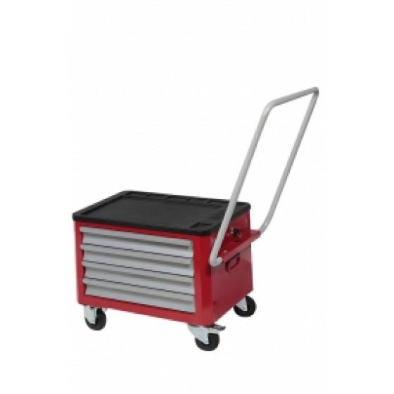 Coffre 4 tiroirs roulant pour servante d'atelier SORI - CE6400R