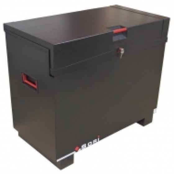 Coffre sécurisé noir avec pieds travaux public Dim.1140x600x925 - TPS1165M