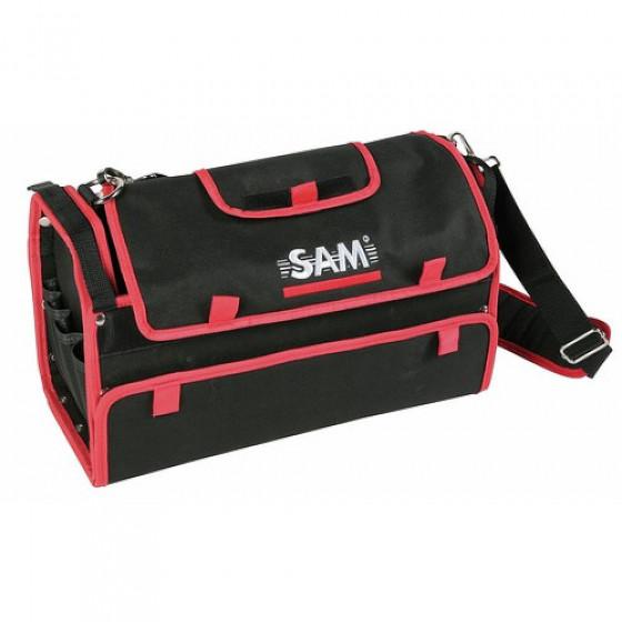 SAM OUTILLAGE-CAISSE A OUTILS TEXTILE VIDE 420 MM PETIT MODELE-BAG-2