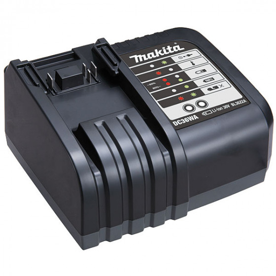 Chargeur DC36WA MAKITA Li-Ion 36 V / 2,2 Ah pour batterie BL3622- 195471-5
