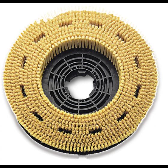 Brosse fibre naturelle 40 cm pour nettoyeuse et lustreuse RUBI - 60959