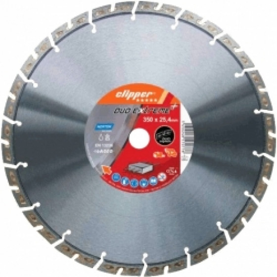 Disque diamant NORTON Duo Extreme+ Ø 400mm Alésage 20 mm- 70184693353