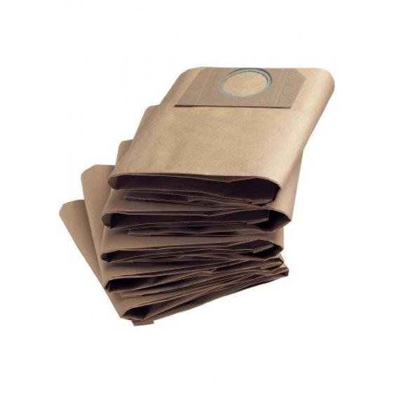 Sachet filtre papier pour aspirateurs eau et poussières KARCHER A2111 ( Paquet de 5 piéces) - 6.904-167.0