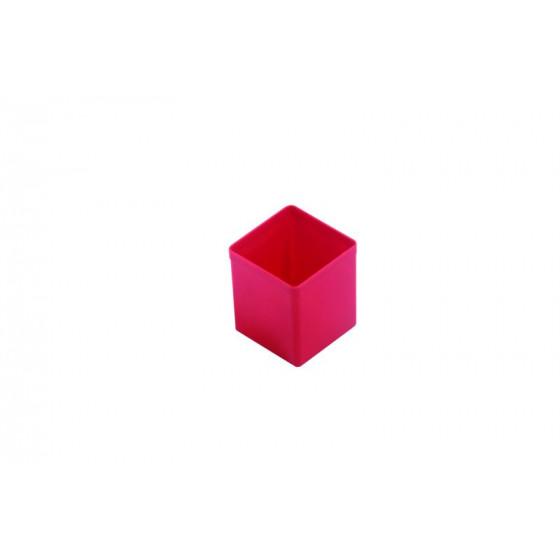 Casier plastique 54X54X63 rouge RUBI - 456315