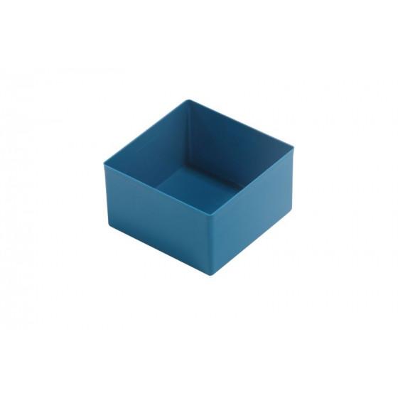 Casier plastique 108X108X63 bleu RUBI - 456317