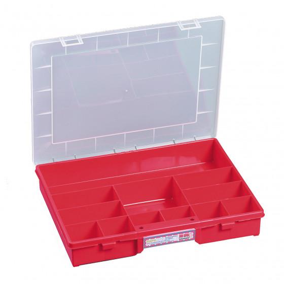 Coffret rouge 12 cases fixes RUBI- 457230