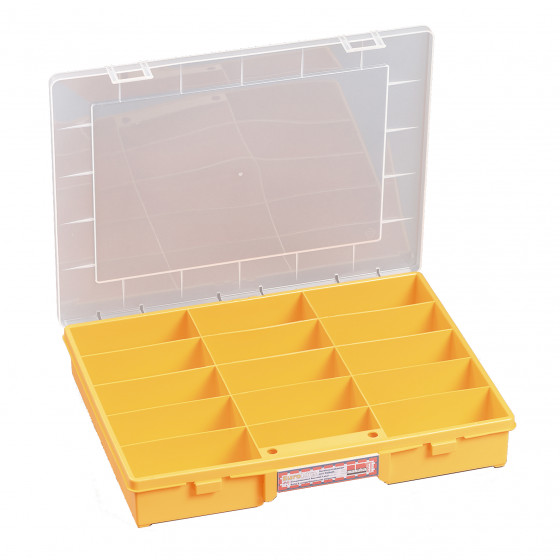 Coffret en polypropylène RUBI 15 cases- 457240