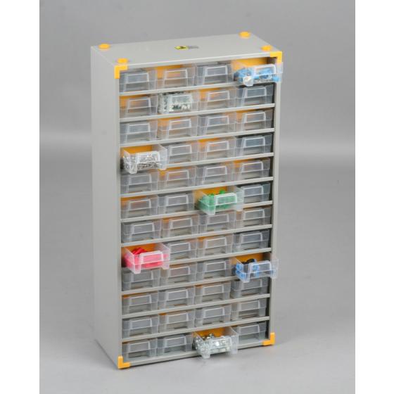 Casiers variopro métal 60 tiroirs plastiques 300x135x560 SORI- 465520