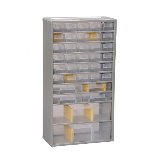 Casiers variopro métal de 36 tiroirs 300x135x560 RUBI - 465620