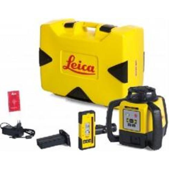 LEICA-LASER  Rugby 640 avec coffret version pile et cellule de réception Rod Eye 160- 6006000