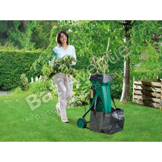 Bâche/sac de ramassage Pour modèles AXT BOSCH JARDIN- 2605411073