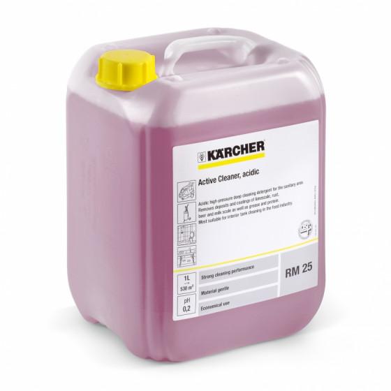 Détergent actif, acide RM 25 ASF KARCHER 10l - 6.295-113.0