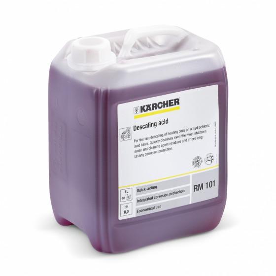Acide détartrant, contient de l'acide chlorhydrique RM 101 ASF KARCHER 5l-  6.295-398.0