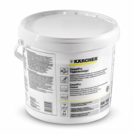 Nettoyant pour moquettes RM 760 CarpetPro en poudre 10 kg KARCHER - 6.295-847.0