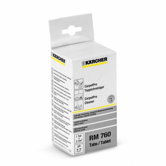 Nettoyant pour moquettes RM 760 CarpetPro en tablettes KARCHER - 6.295-850.0