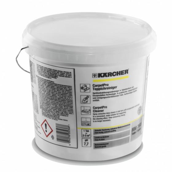 Nettoyant pour moquettes RM 760 CarpetPro 200 tablettes KARCHER - 6.295-851.0