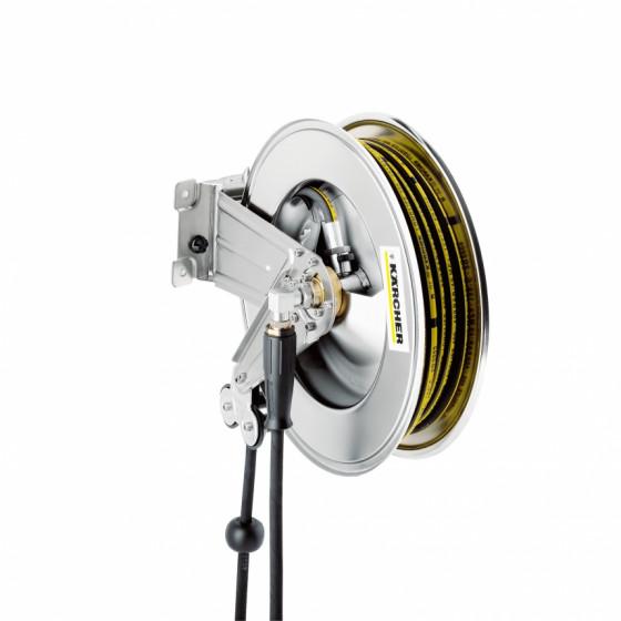 Tambour-enrouleur automatique, inox avec support pivotant 20m KARCHER - 6.391-421.0