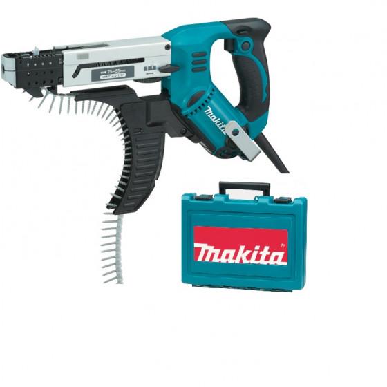Visseuse automatique MAKITA M6000 tr/min 55 mm + 1 coffret de transport - 6843
