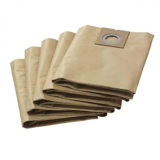 KARCHER- 5 filtres papier 2 couches- 69042080