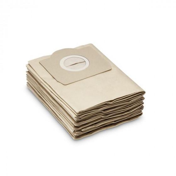 Sachet filtre papier Karcher pour aspirateur MV 3 / WD 3.xxx / A 22xx / A 25xx / A26xx / / SE 4001, 4002 (5 pcs) - 69591300