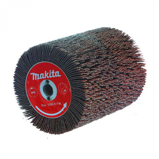 MAKITA- Brosses à lamelles fendues Grain 40- P-01127