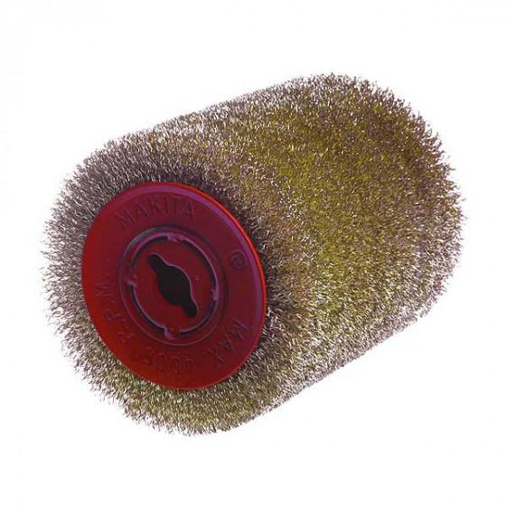 MAKITA-Brosses fil d'acier laitonné-P65648