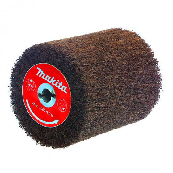 Brosse texture abrasive avec fibre Grain 180 MAKITA- P-18029