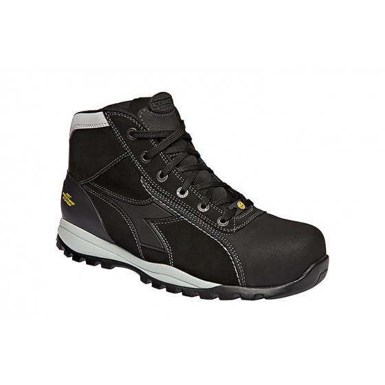Chaussures de sécurité haute noirs S3 SRA HRO ESD Glove Tech High Pro - DIADORA- 173527800130