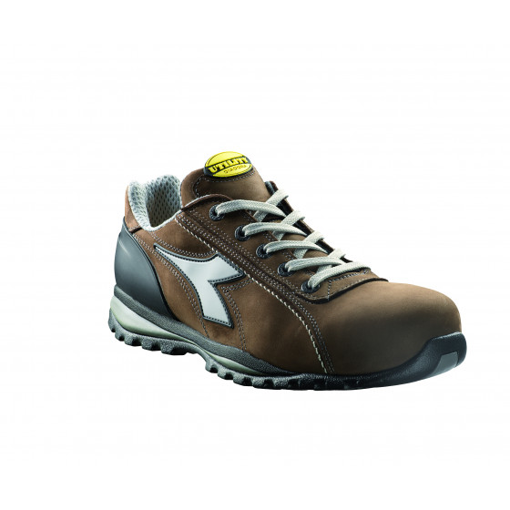Chaussure de sécurité basse DIADORA Glove S3 HRO Marron foncé -17023530008