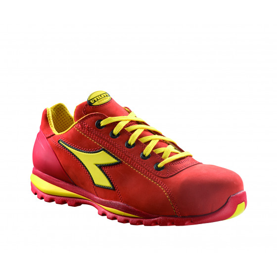 Chaussure de sécurité basse DIADORA Glove S3 HRO Rouge intense -17023545041