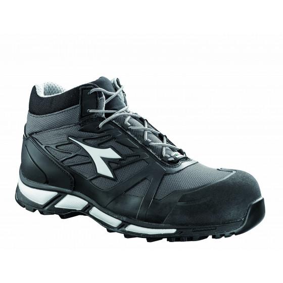 Chaussure de sécurité haute DIADORA D-TRAIL HI SRA HRO GRIS/NOIR-170966C4664