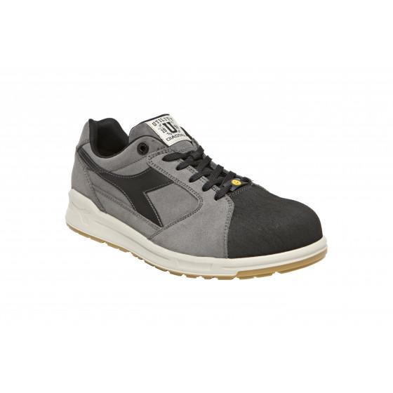 Chaussure de sécurité basse DIADORA D-JUMP LOW PRO S3 SRC ESD gris / Noir - 172027C68450