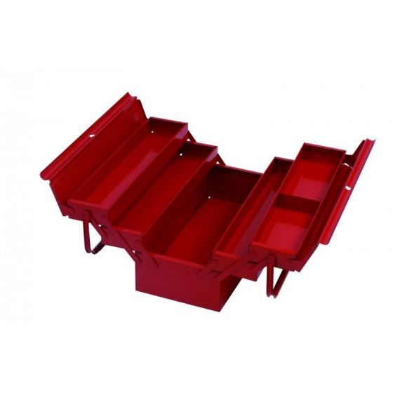 Boîte à outils 5 compartiments 430x200x200 - 782200